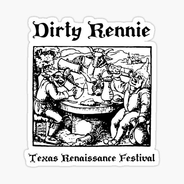 Dirty Rennie Sticker