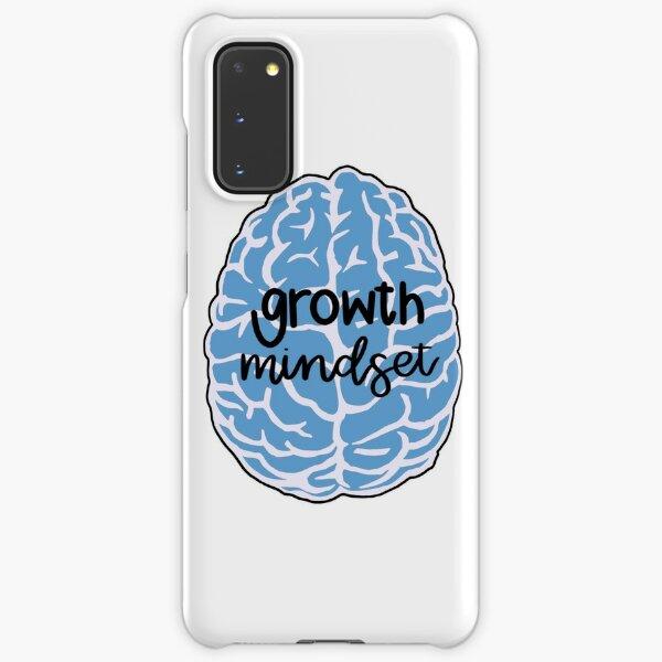 growth mindset blue brain Samsung Galaxy Snap Case