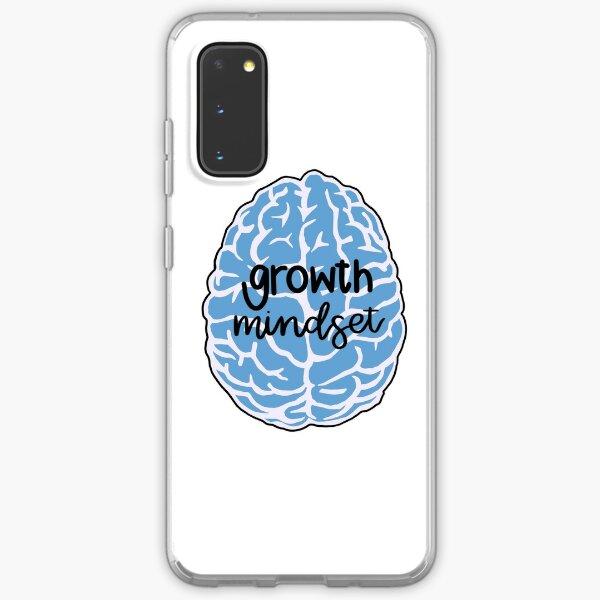 growth mindset blue brain Samsung Galaxy Soft Case