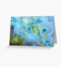 Florets (Moss Agate) Greeting Card