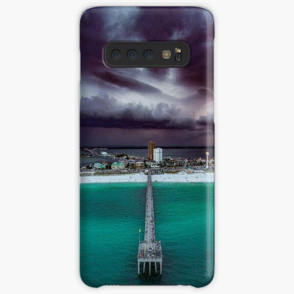 Moody Pensacola Pier Samsung Galaxy Snap Case