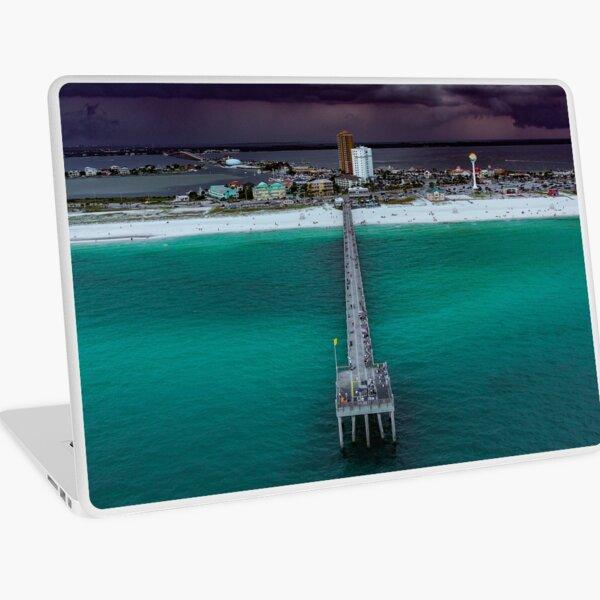 Moody Pensacola Pier Laptop Skin
