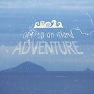 Off To An Island Adventure Blue Coast Dawn by Beverly Claire Kaiya