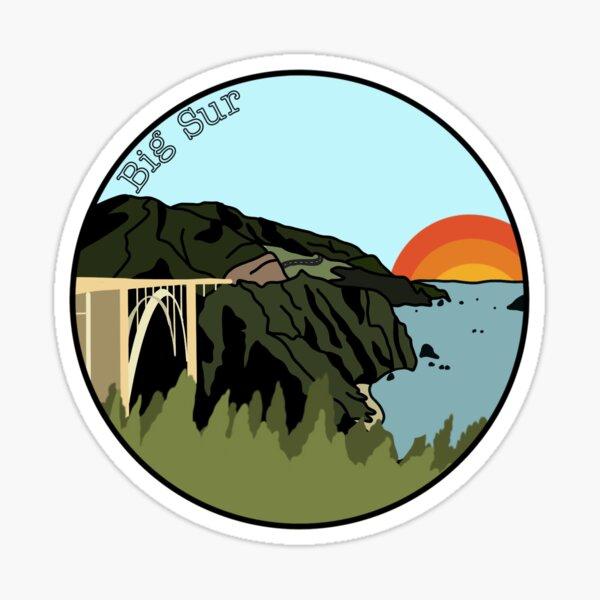 Big Sur Sticker