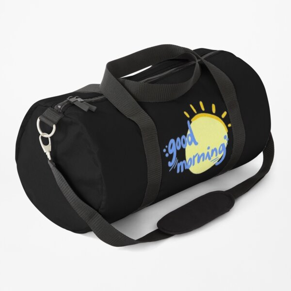 Retro Sunrise Duffle Bag