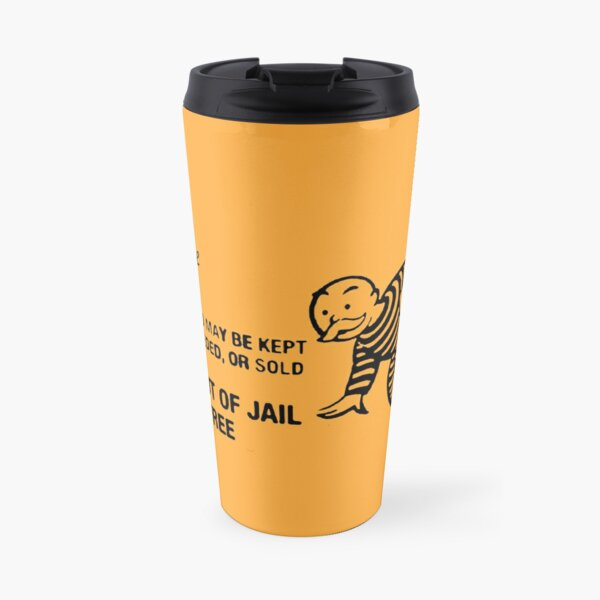 Monopoly - Get Out of Jail Free Travel Mug