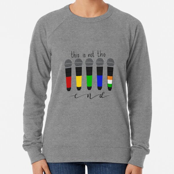 this is not the end Lightweight Sweatshirt