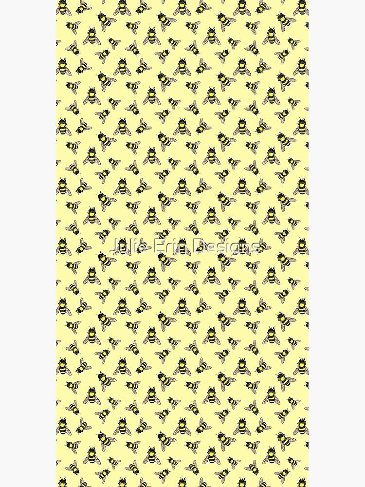 Honey Bee Pattern by julieerindesign
