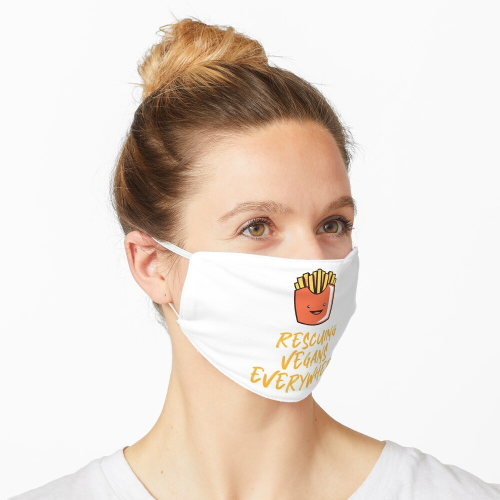 Rescuing Vegans Everywhere with Fries Mask