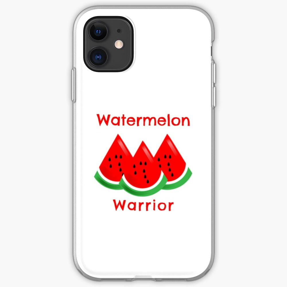 Watermelon Warrior iPhone Case & Cover
