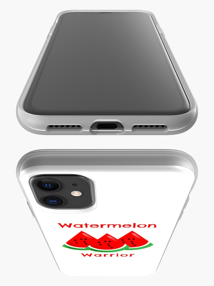 Alternate view of Watermelon Warrior iPhone Case & Cover