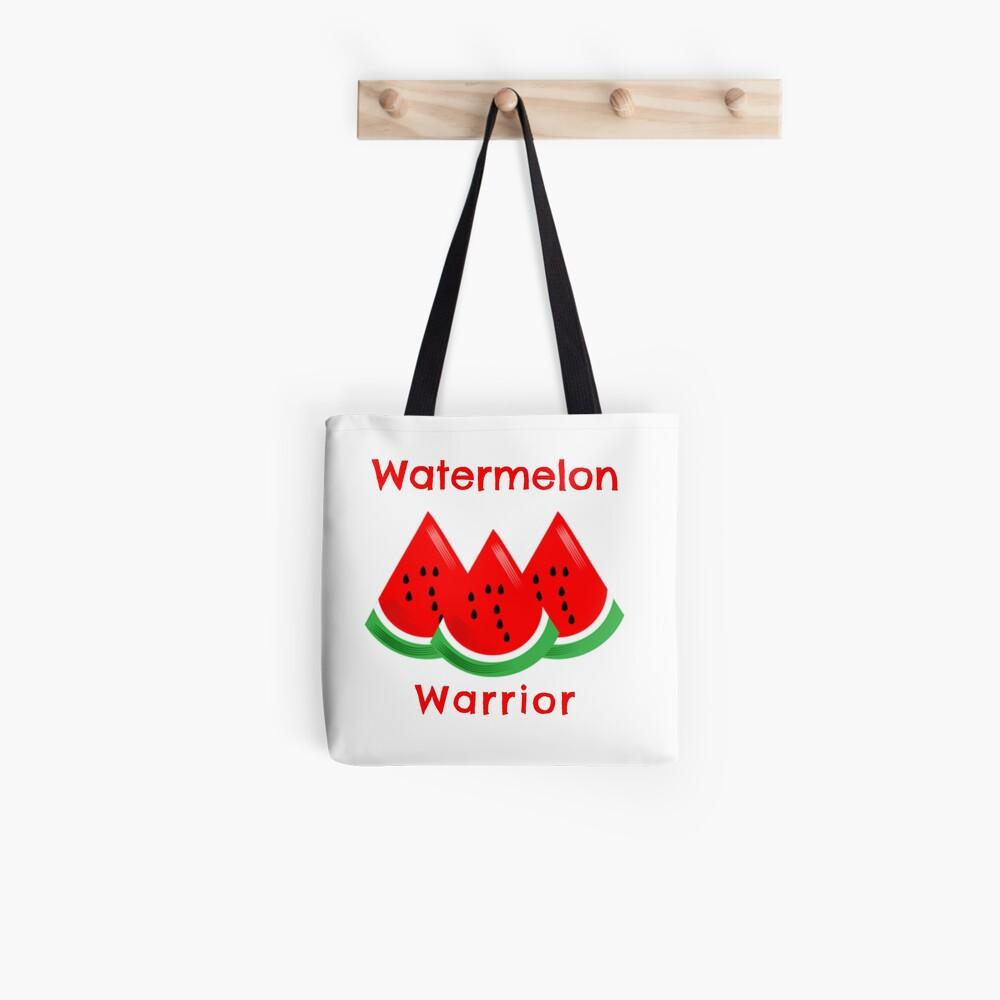 Watermelon Warrior Tote Bag