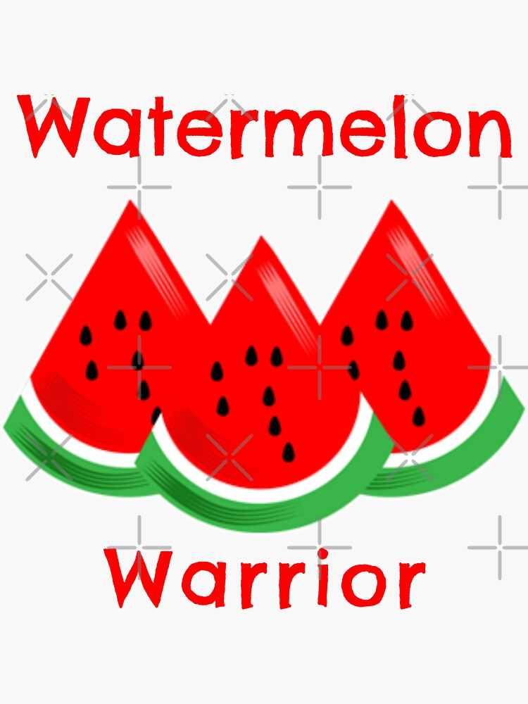 Watermelon Warrior by nikkihstokes