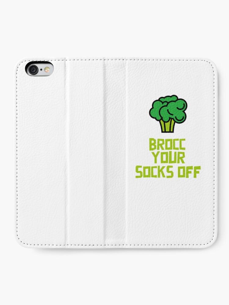 Alternate view of Brocc Your Socks Off iPhone Wallet