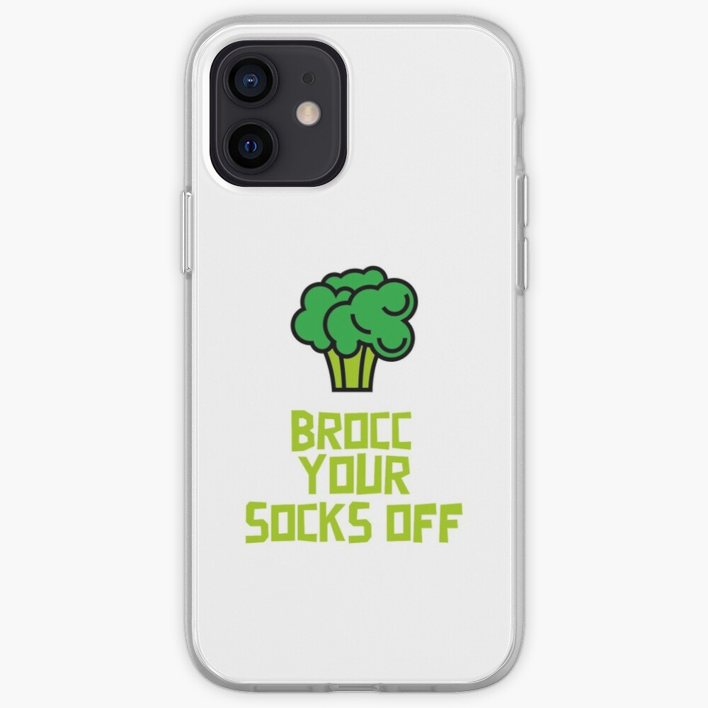 Brocc Your Socks Off iPhone Case & Cover