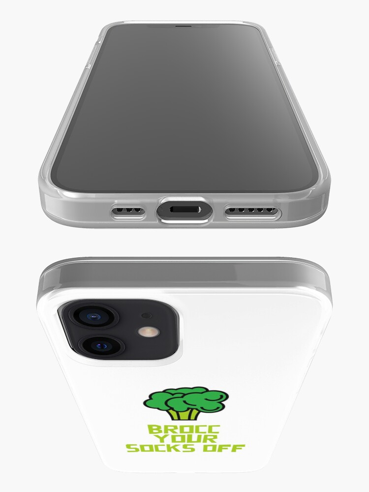 Alternate view of Brocc Your Socks Off iPhone Case & Cover