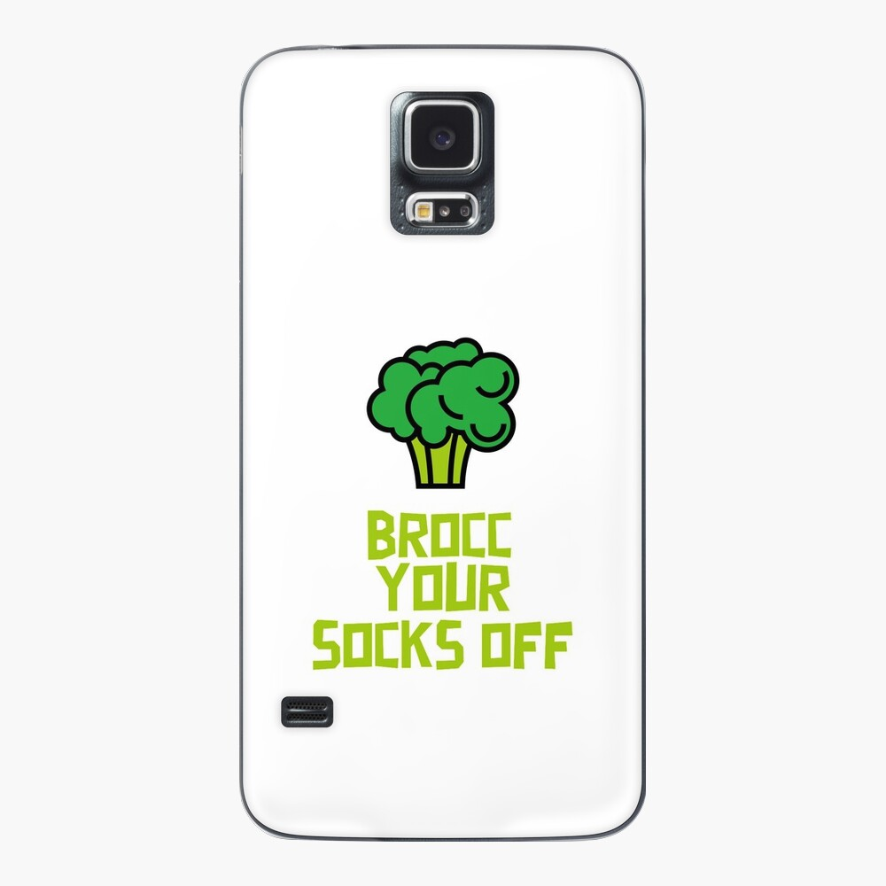 Brocc Your Socks Off Case & Skin for Samsung Galaxy
