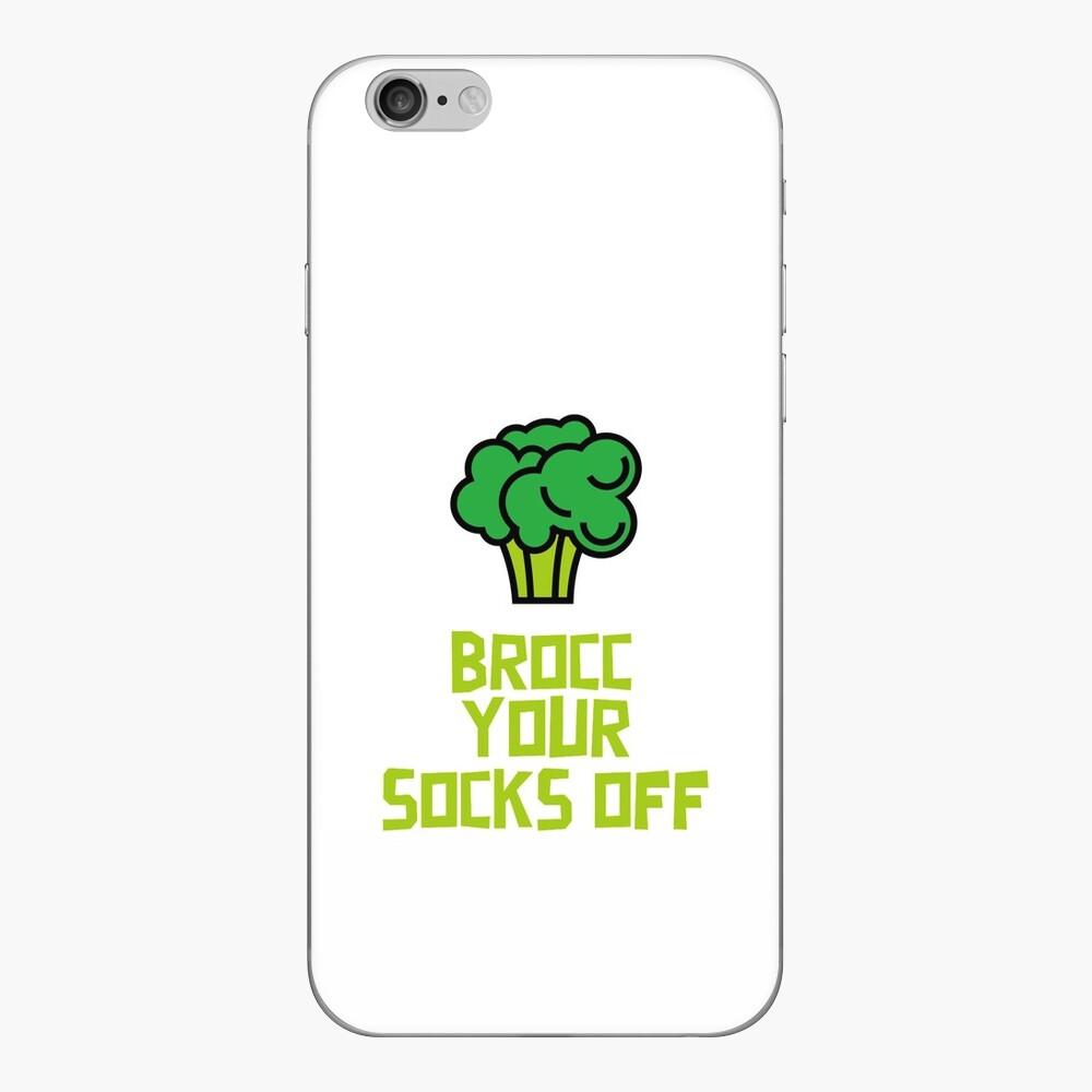 Brocc Your Socks Off iPhone Skin