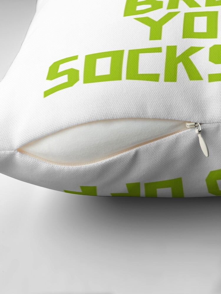 Alternate view of Brocc Your Socks Off Throw Pillow