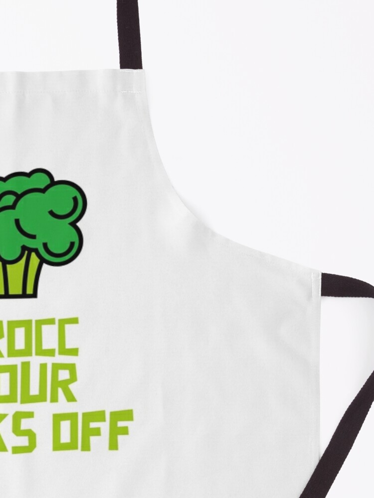 Alternate view of Brocc Your Socks Off Apron