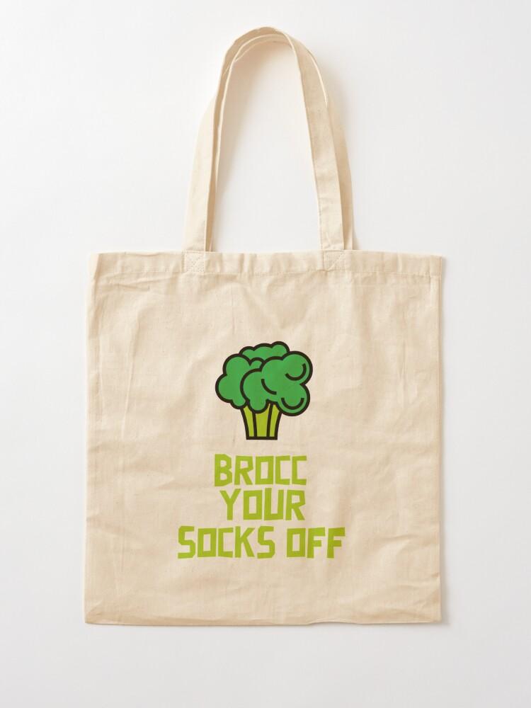 Alternate view of Brocc Your Socks Off Tote Bag