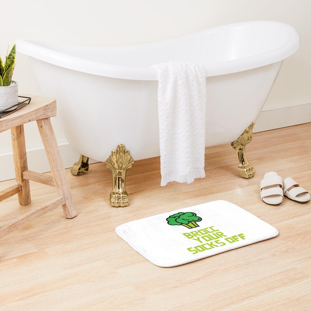 Brocc Your Socks Off Bath Mat