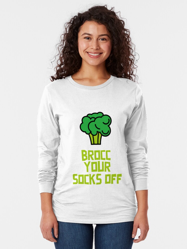 Alternate view of Brocc Your Socks Off Long Sleeve T-Shirt
