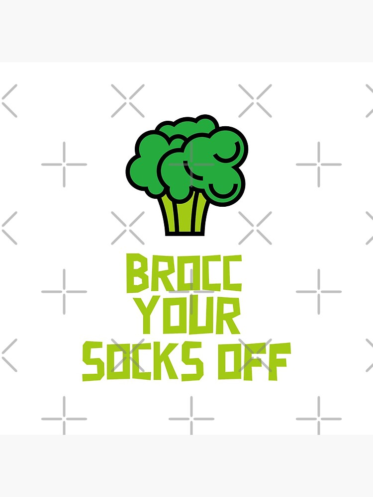 Brocc Your Socks Off by nikkihstokes