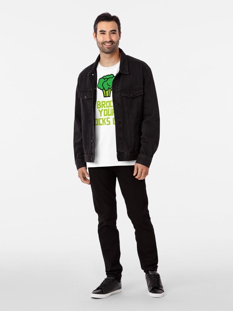 Alternate view of Brocc Your Socks Off Premium T-Shirt