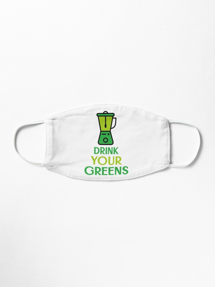 Alternate view of Drink Your Greens Mask