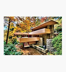 The Art & Architecture of Fallingwater Photographic Print