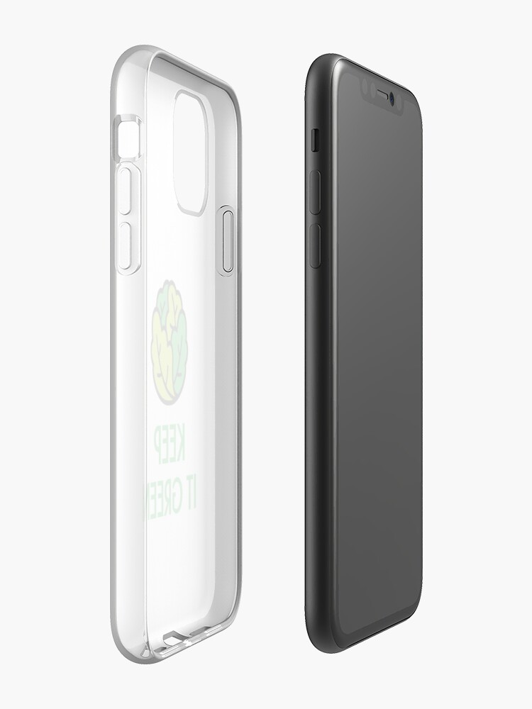 Alternate view of Keep It Green iPhone Case