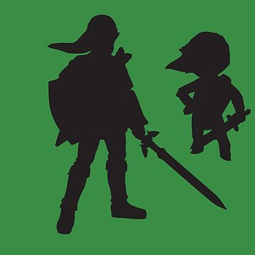 The Legend of Zelda - The Old and the Toon - Link by Flame316