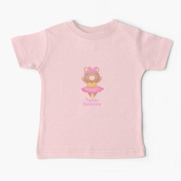 Teddy Ballerina Baby T-Shirt