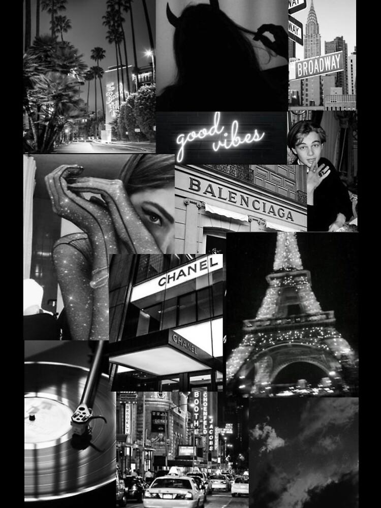 black aesthetic collage by katethompsonn