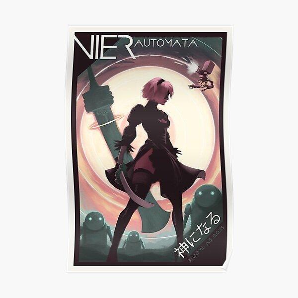 Nier: Affiche Automata 2B Poster