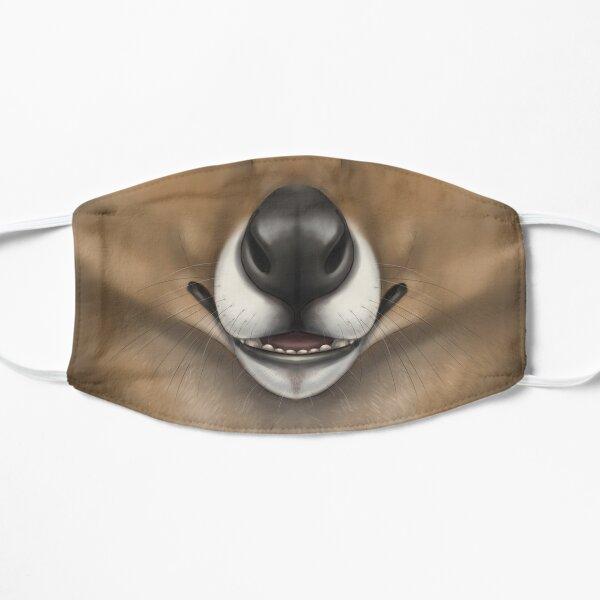 Thylacine Face Flat Mask