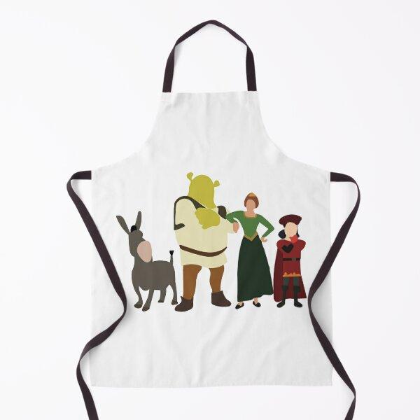 Minimalist Shrek and Friends Apron