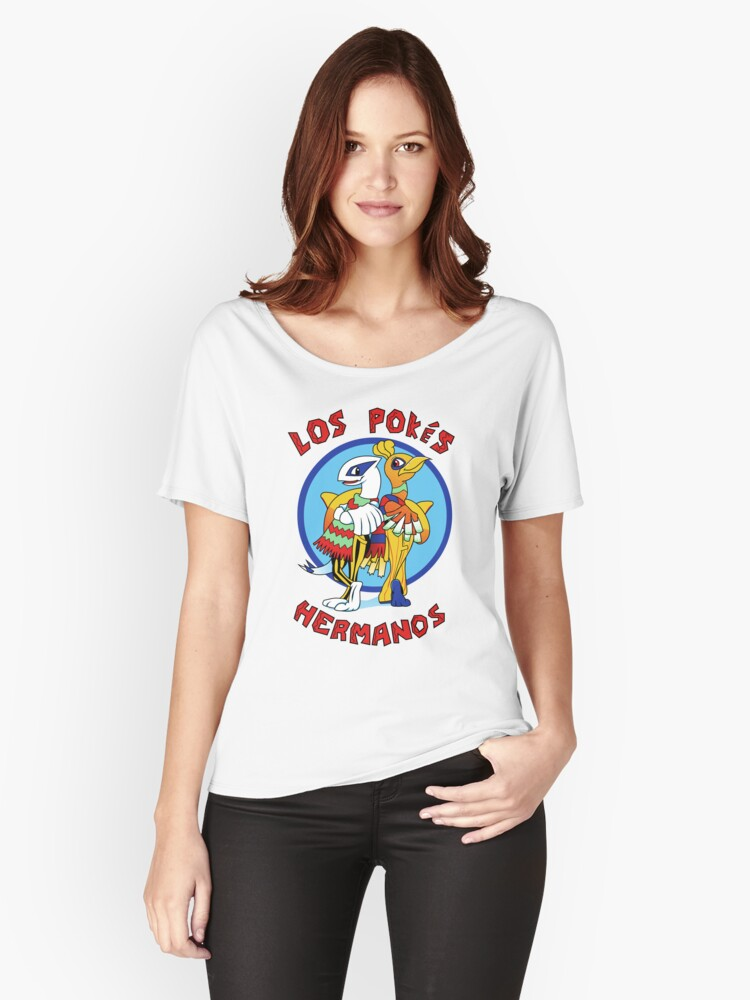 Los Pokés Hermanos Women's Relaxed Fit T-Shirt Front
