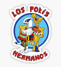 Los Pokés Hermanos Sticker
