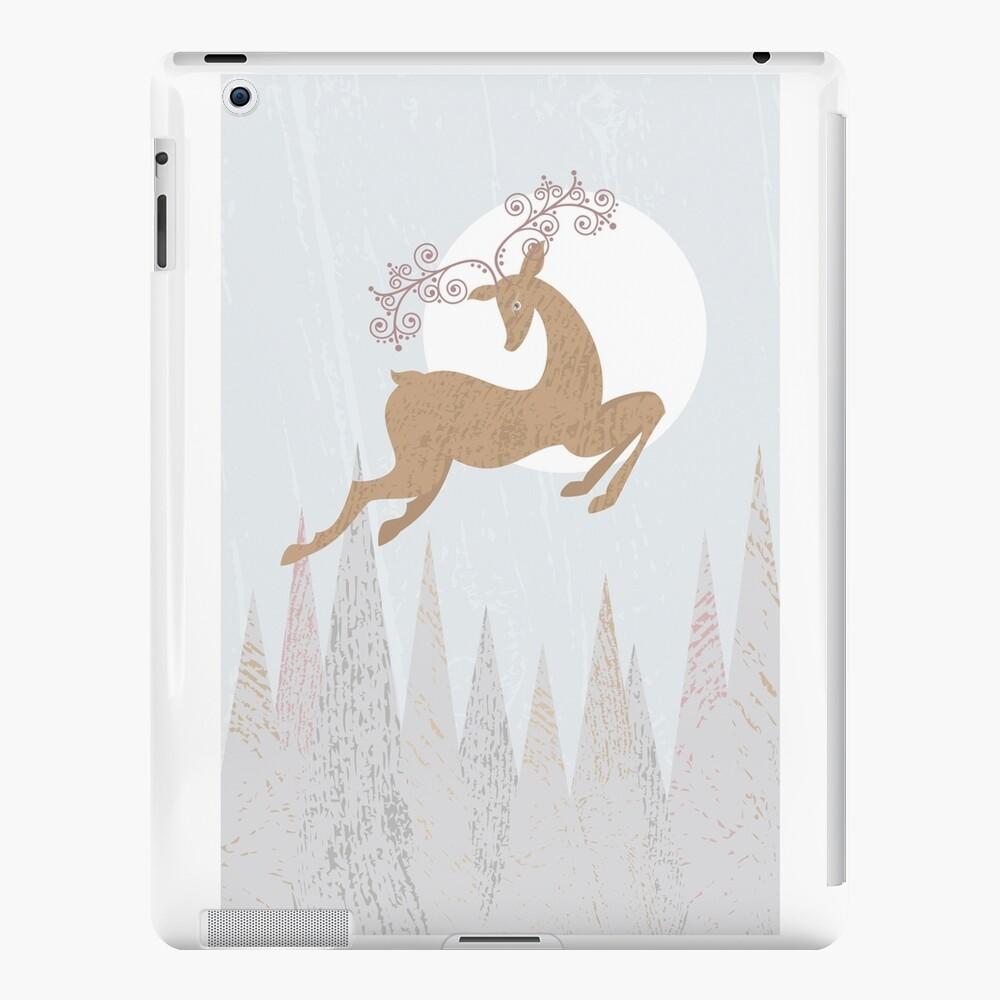 Christmas Deer iPad Case & Skin