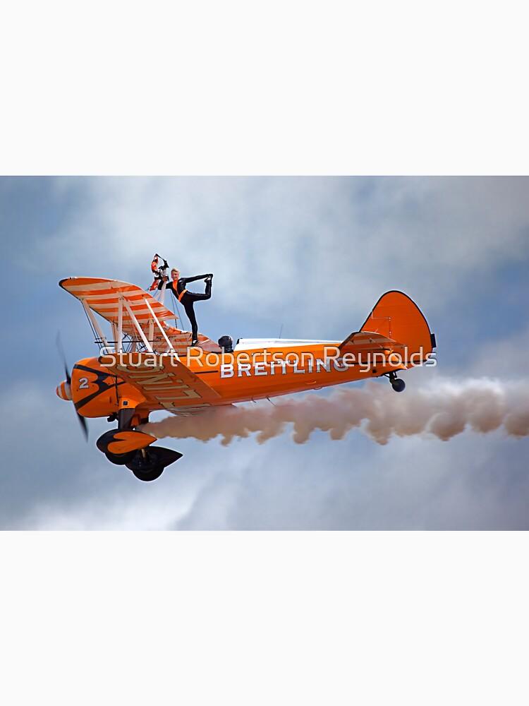 Breitling Wingwalking Team's Stearman by Sparky2000