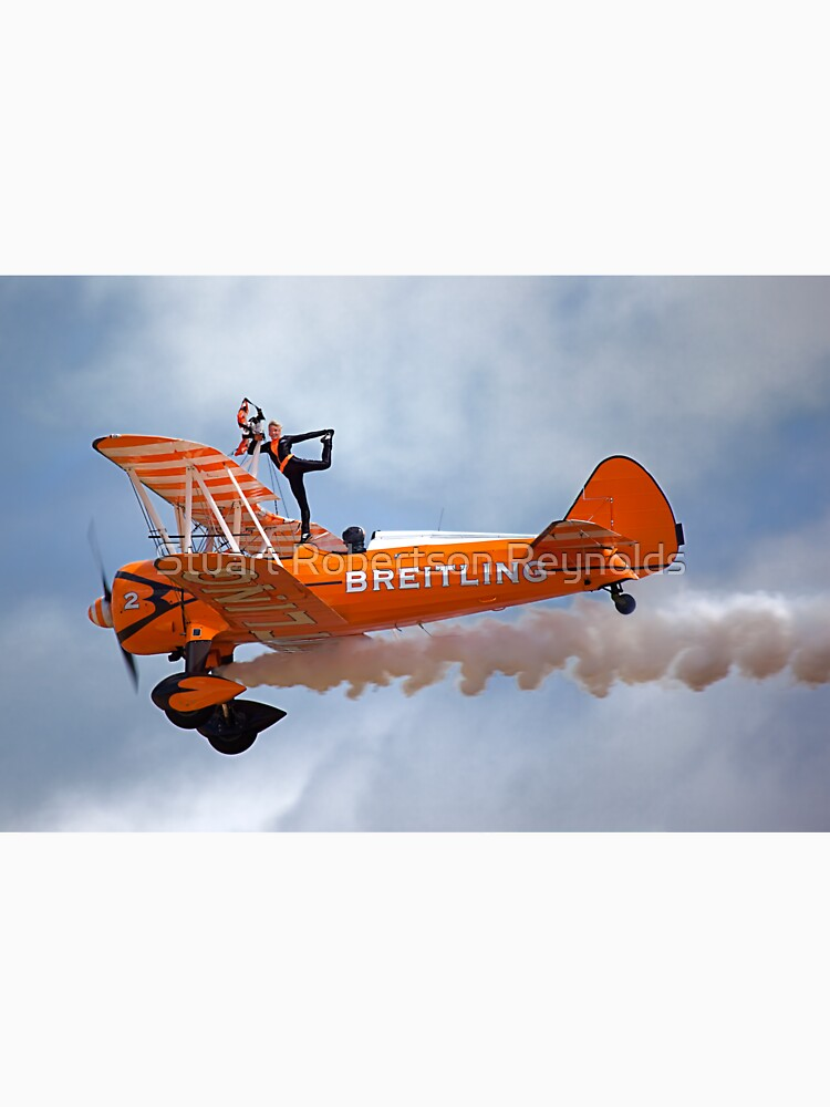 Breitling Wingwalking Team's Stearman by Sparky2000