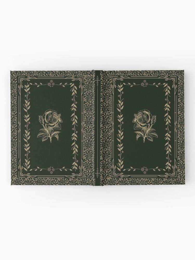 Alternate view of Vintage Rose Grimoire (Green, Gold) Hardcover Journal