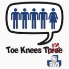 Toe Knees one - gender equity fail by KISSmyBLAKarts