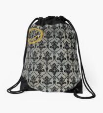 Sherlock 221B Baker Street Wall Drawstring Bag