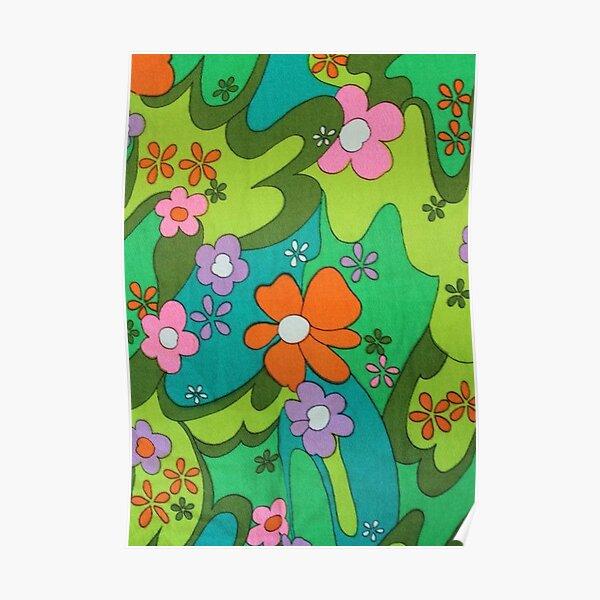 y2k flower Poster