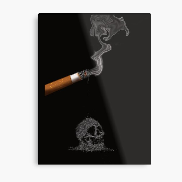 Smoking Kills Metal Print