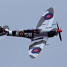 Spitfire flypast by Stuart Robertson Reynolds