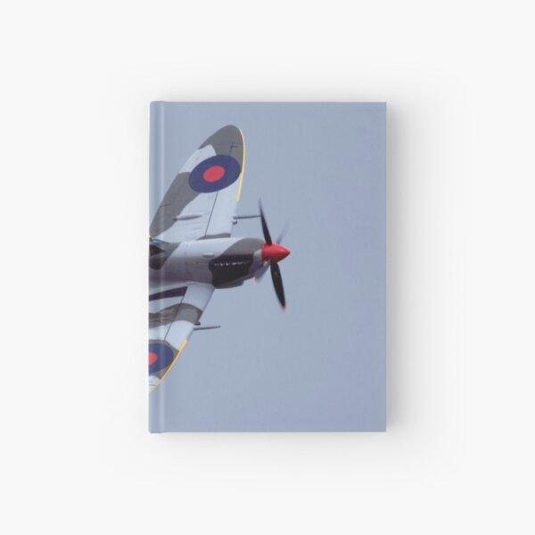 Spitfire flypast Hardcover Journal